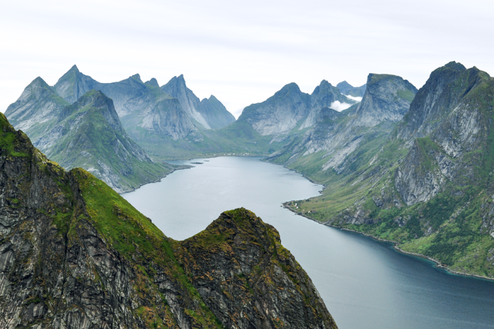 Moskenesøya: Mountains, Fjords, and Cloudberries
