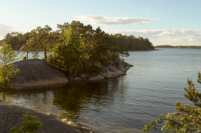 Typical scenery from Stockholm's archipelago
