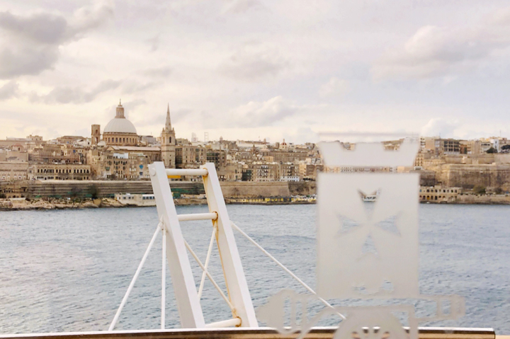 A view of Valletta's seafront