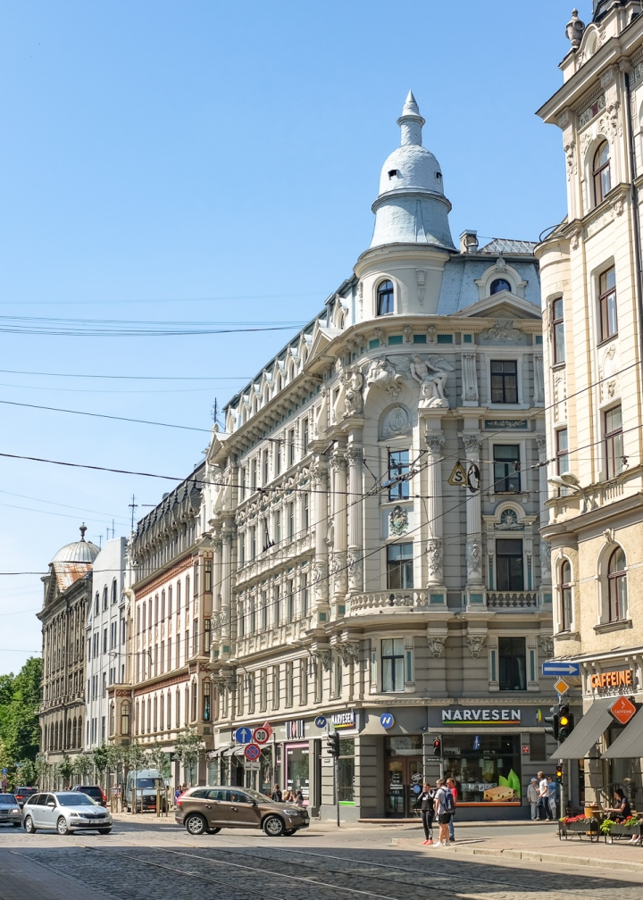 Krišjāņa Barona iela, Riga, Latvia