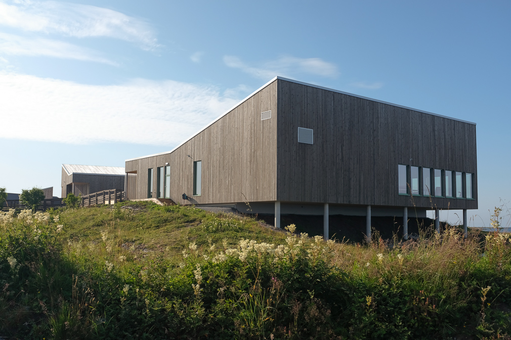 Vega's new World Heritage Center constructed with a look of pine and birch