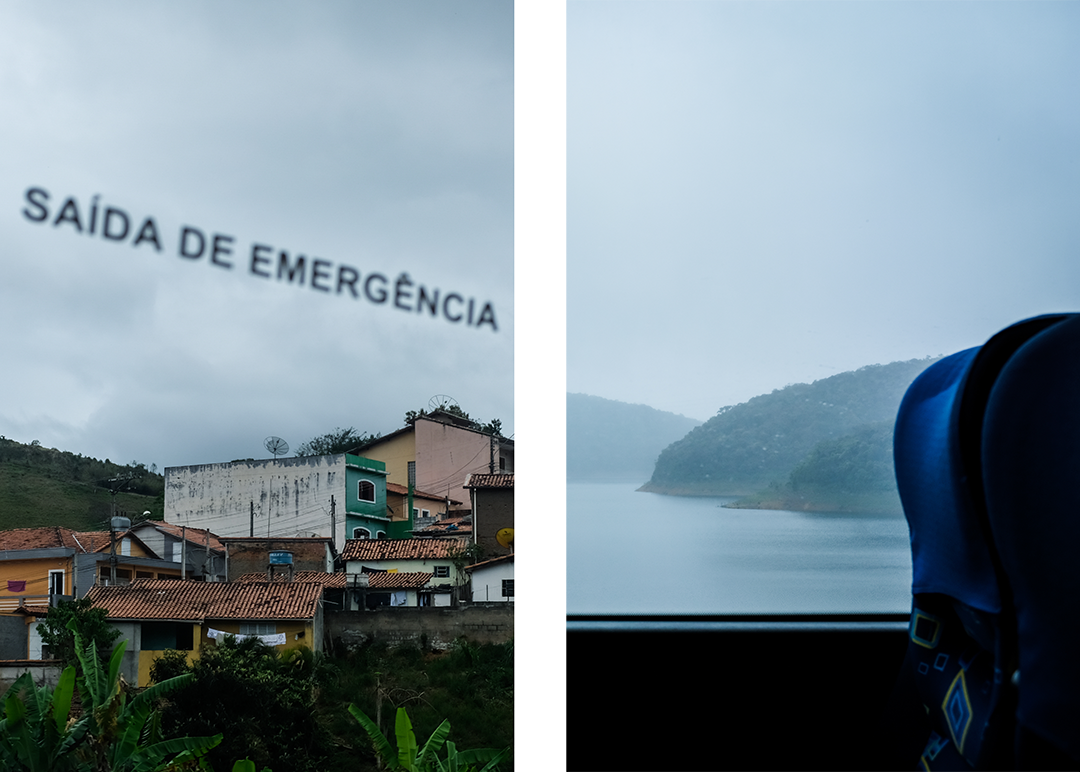 Scenes from the bus along Brazil's Costa Verde