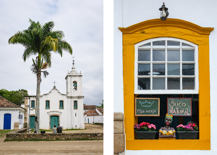 Scenes from a colonial town in Brazil