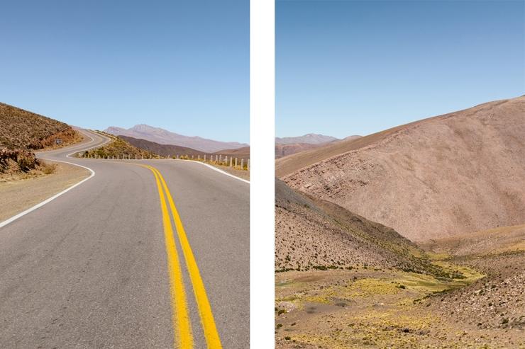 The quebrada landscape of northwestern Argentina