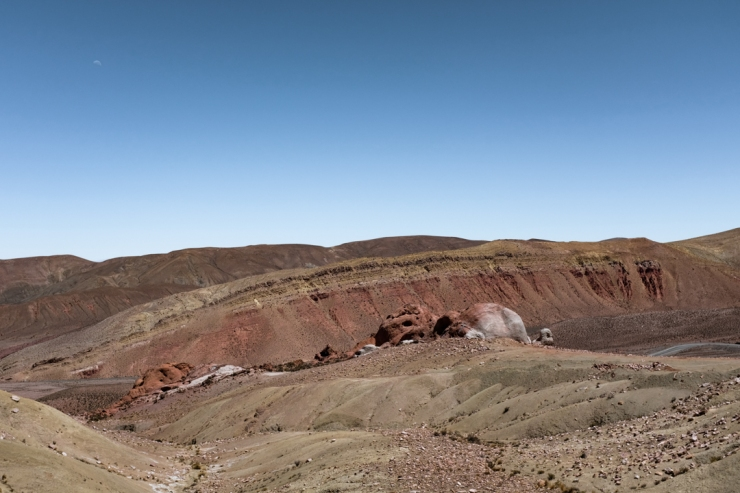 The landscape of northwestern Argentina