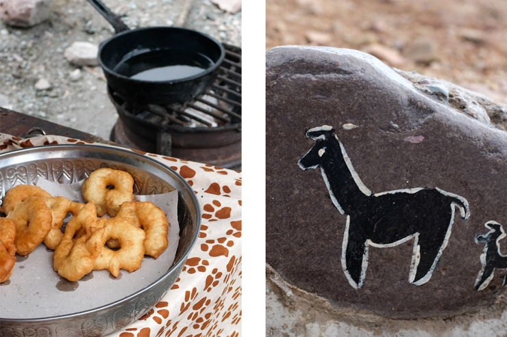 Art and street food from northwestern Argentina's Qulla community