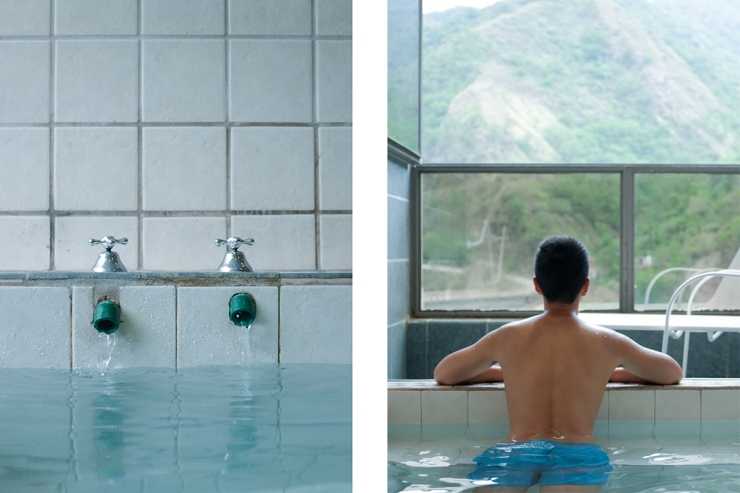 Scenes from a thermal bath