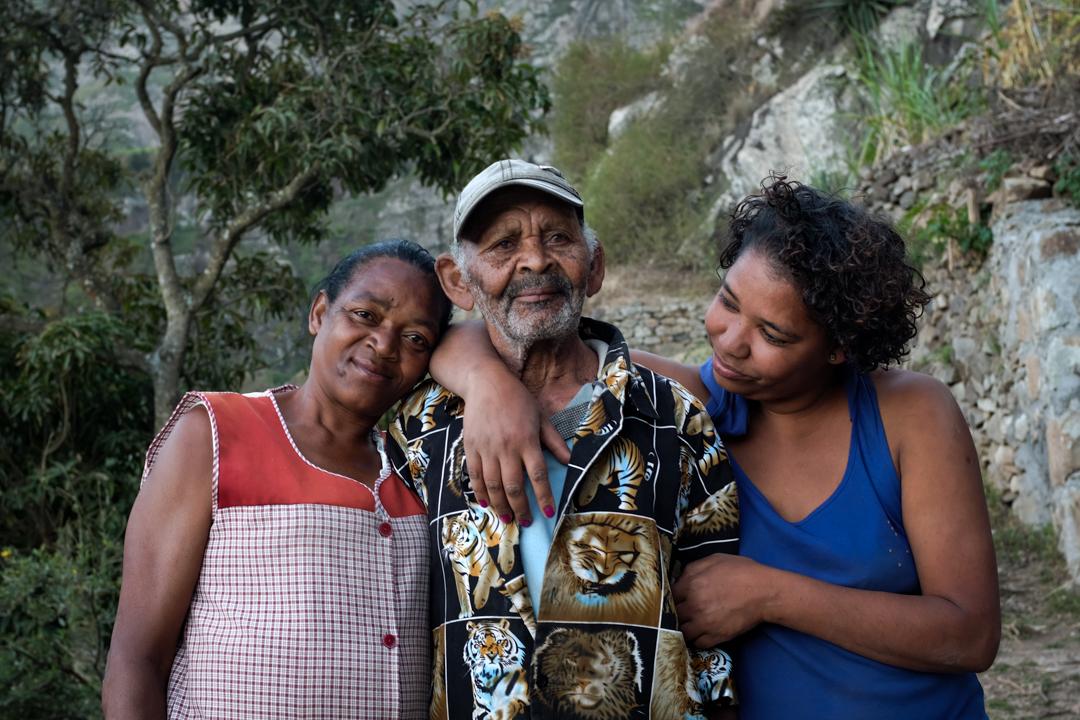 Portrait of a Cape Verdean family