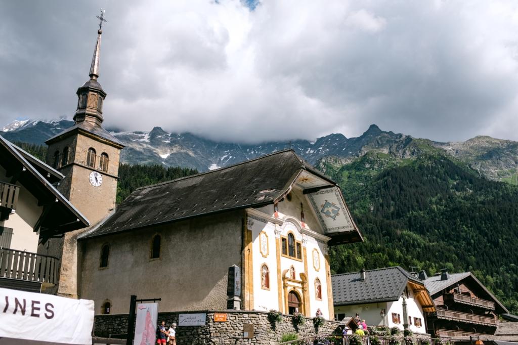A church in a mountain village