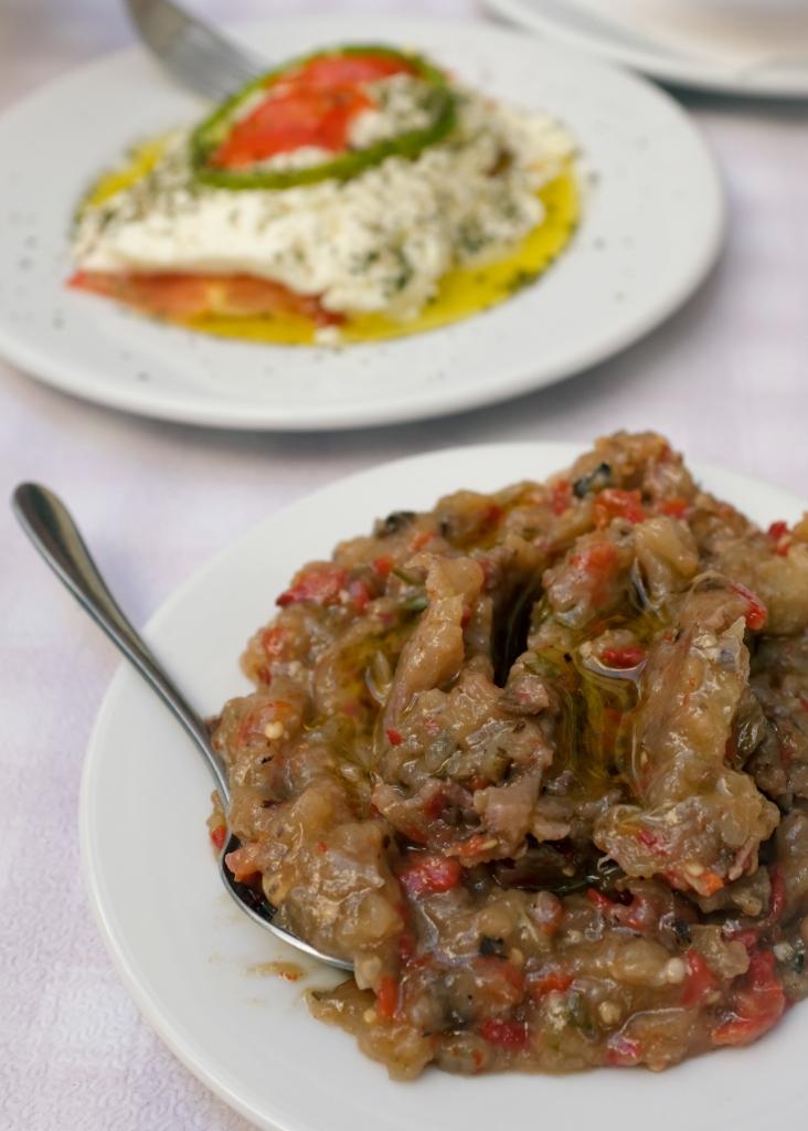 Melitzanosalata, Greek eggplant salad